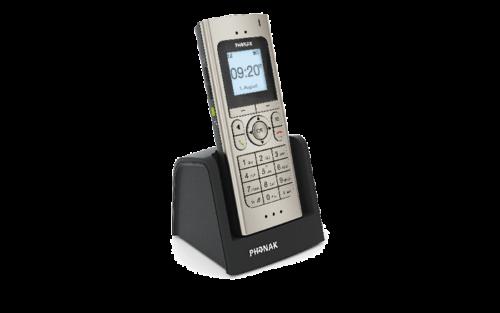 Schnurlostelefon der Firma Phonak