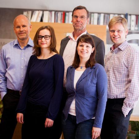 Das Team der Firma Hörgeräte Dippe in Dresden.
